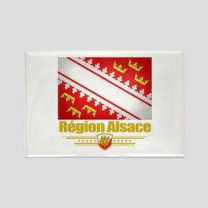 Alsace Region Rectangle Magnet