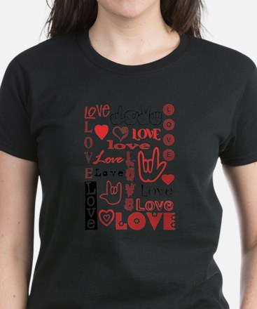 Love WordsHearts T-Shirt