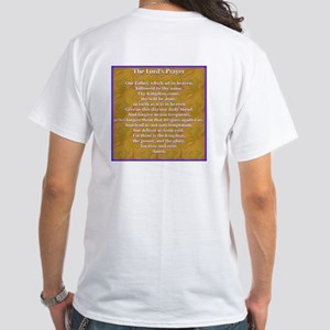 The Lord's Prayer Blue White T-Shirt