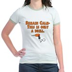 Only A Drill Jr. Ringer T-Shirt
