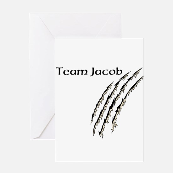 Unique Team jacob Greeting Card