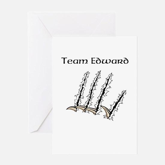 Team Edward Greeting Card
