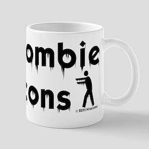 Zombie Icons Logo Mug