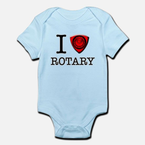 I-love-rotary Body Suit
