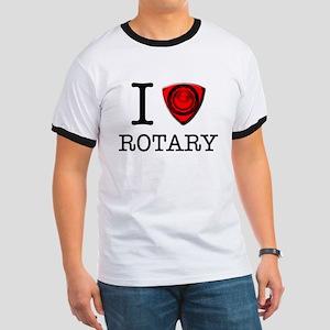 I love rotary Ringer T-shirt