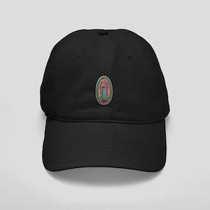15 Lady of Guadalupe Black Cap