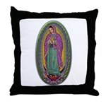 15 Lady of Guadalupe Throw Pillow