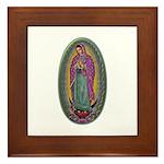 15 Lady of Guadalupe Framed Tile