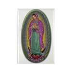 15 Lady of Guadalupe Rectangle Magnet (10 pack)