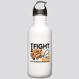 Fight Like a Girl Leukemia Stainless Water Bottle