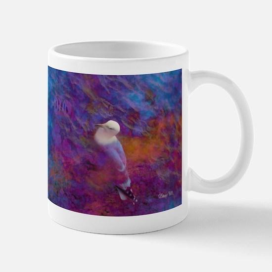 Bird and sea - Mug