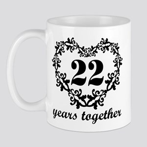 married 22 years gifts cafepress