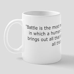 Patton: Battle is the most Mug