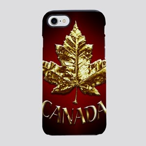 Gold Canada Souvenir iPhone 7 Tough Case