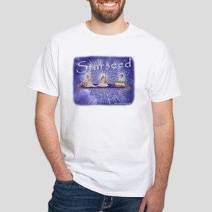 Starseed Music White T-Shirt