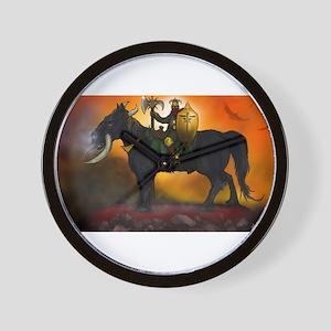Beast Rider Wall Clock