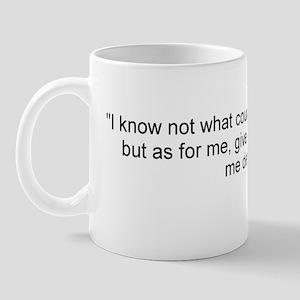Henry: Liberty or death! Mug