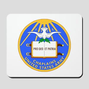 usa army chaplain Mousepad