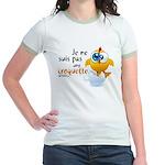 Je ne suis pas une croquette - Jr. Ringer T-Shirt