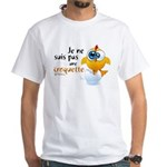 Je ne suis pas une croquette - White T-Shirt