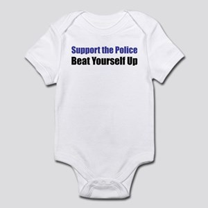 Support the Police Infant Creeper