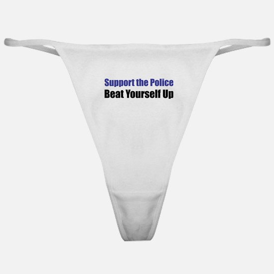 Support the Police Classic Thong