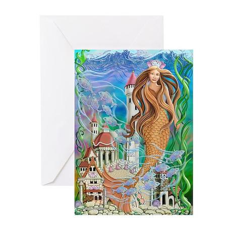 Sea Princess Greeting Cards (Pk of 10)