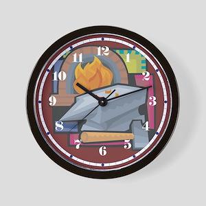 Black Smithing Wall Clock
