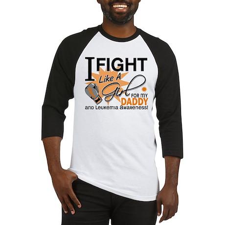 Fight Like a Girl Leukemia Baseball Jersey