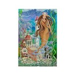 Sea Princess Rectangle Magnet (10 pack)