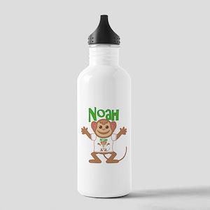 Little Monkey Noah Stainless Water Bottle 1.0L