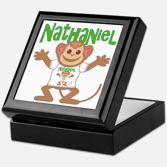 Little Monkey Nathaniel Keepsake Box