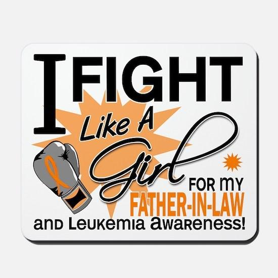 Fight Like a Girl Leukemia Mousepad