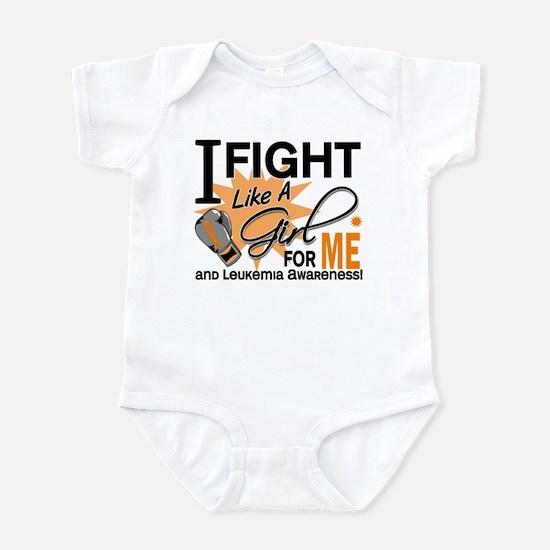 Fight Like a Girl Leukemia Infant Bodysuit