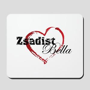 Abstract Heart Mousepad - Zsadist and Bella
