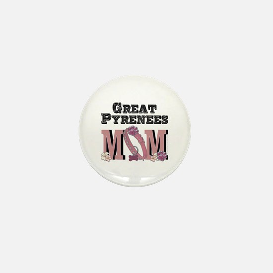 Great Pyrenees MOM Mini Button