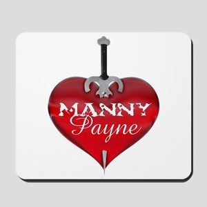 Classic Heart Mousepad - Manny and Payne