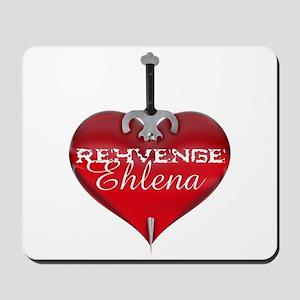 Classic Heart Mousepad - Rehvenge and Ehlena