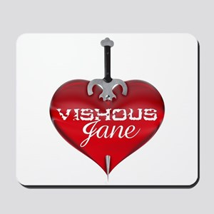 Classic Heart Mousepad - Vishous and Jane