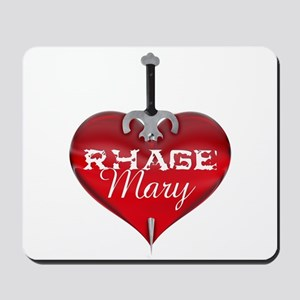 Classic Heart Mousepad - Rhage and Mary