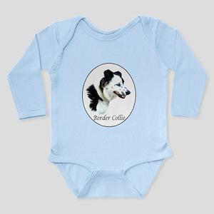 Border Collie Long Sleeve Infant Bodysuit