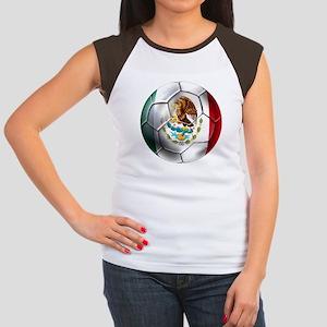 Futbol Mexicano Women's Cap Sleeve T-Shirt