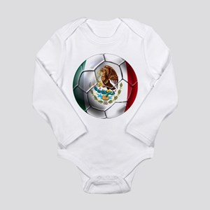 Futbol Mexicano Long Sleeve Infant Bodysuit