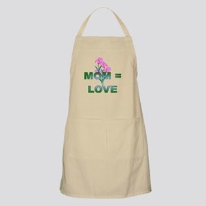MOM = Love BBQ Apron