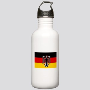 German Soccer Flag Stainless Water Bottle 1.0L