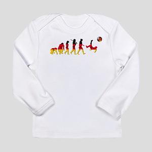 German Football Long Sleeve Infant T-Shirt