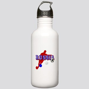 Russian Soccer Player Stainless Water Bottle 1.0L