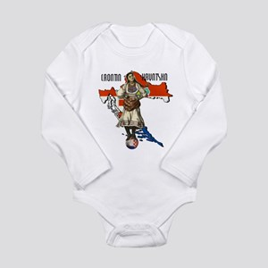 Croatia Culture Long Sleeve Infant Bodysuit