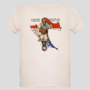 Croatia Culture Organic Kids T-Shirt