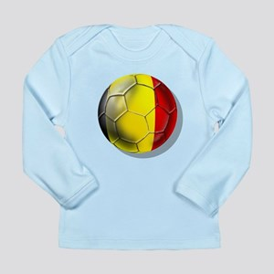 Belgian Football Long Sleeve Infant T-Shirt